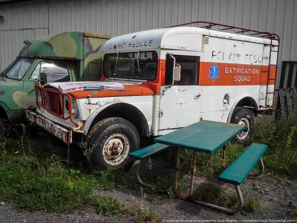 Машина для эвакуации раненых