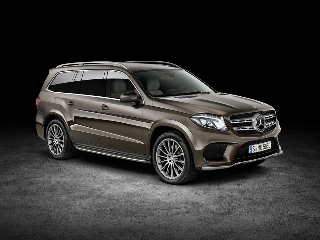 Mercedes GLS 2016 модельного года