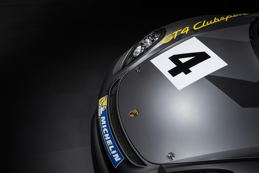 Porsche Cayman GT4 Clubsport 4