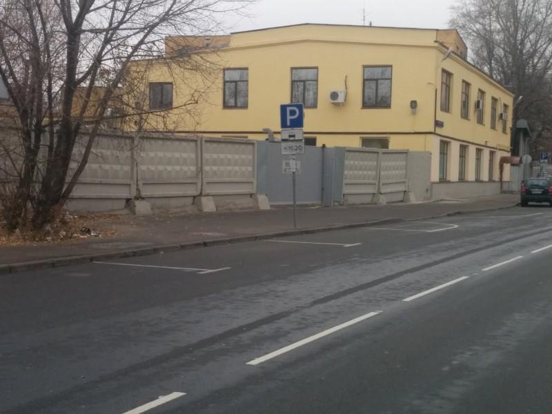 Проезд от набережной Академика Туполева к Бауманской улице
