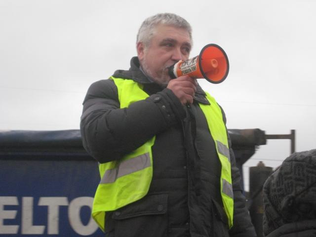 Протесты дальнобойщиков