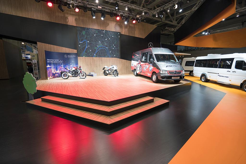 Стенд Mercedes на Комтранс-2015
