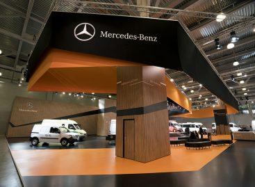 Стенд Mercedes удостоился награды
