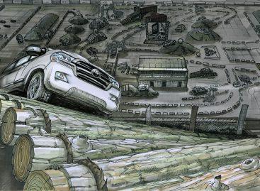 Тест-драйв шоу Toyota состоится в Москве