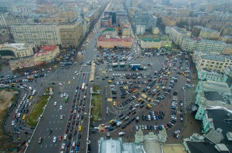 Реконструкция площади Тверской заставы признана нецелесообразной