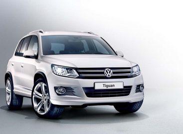 Volkswagen выпустил новую версию Tiguan