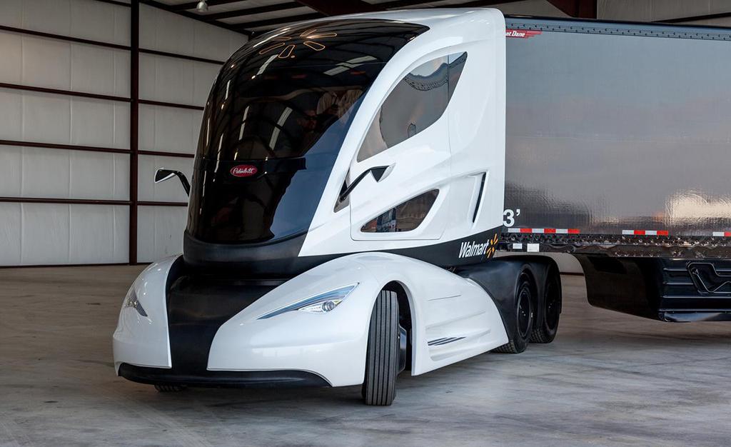 Грузовик Walmart Advanced Vehicle Experience