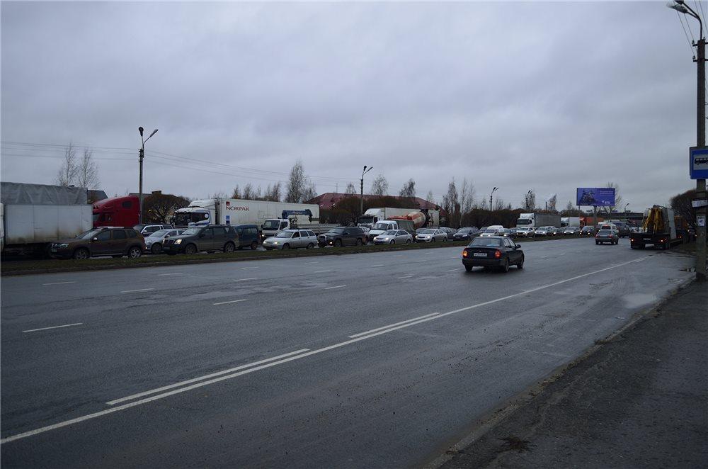 Забастовка дальнобойщиков в Пскове
