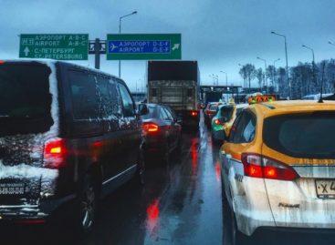 Введение платы за проезд привело к чудовищным заторам на Ленинградке