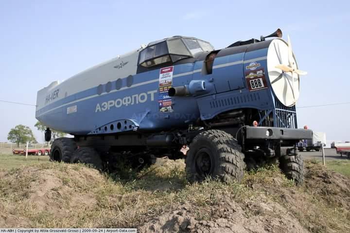 Адская смесь Ан-2 и КрАЗ-255Б