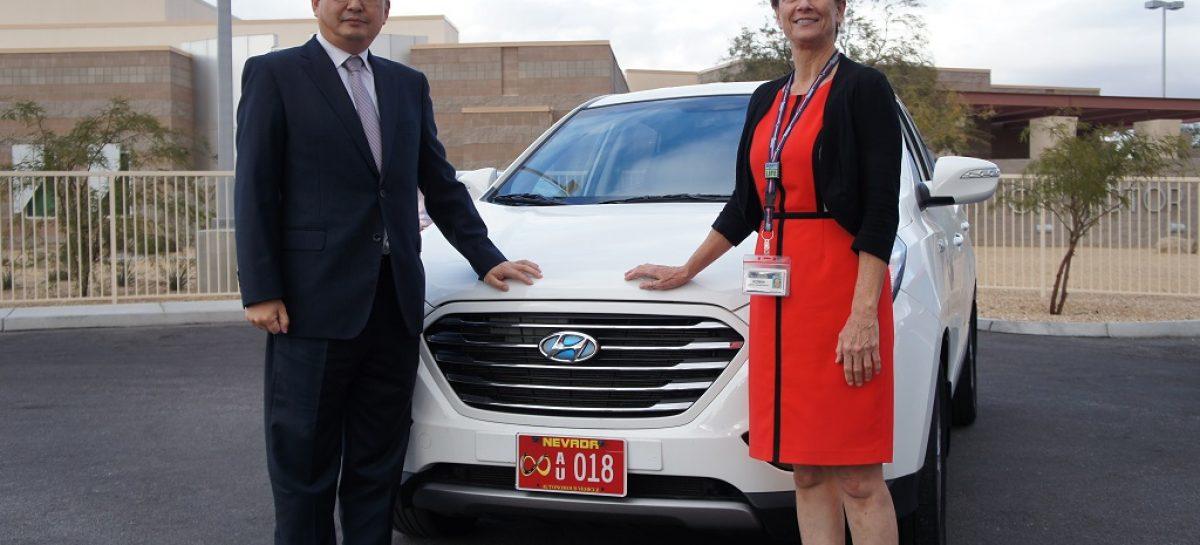 Автономный Hyundai выехал на дороги