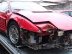 Что делать с разбитой Ferrari Testarossa