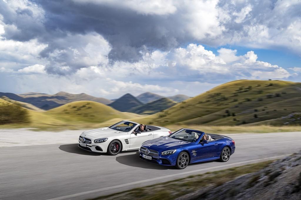 Mercedes SL 500 и AMG SL 63 2015
