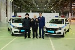 Полицейские Ижевска получили Lada Vesta