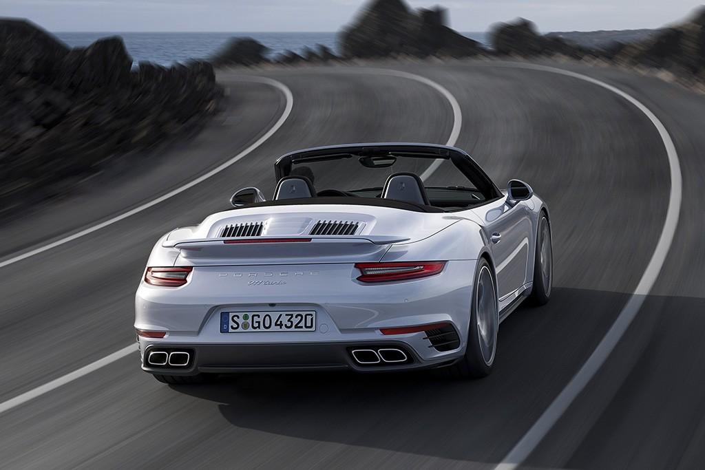 Porsche 911 Turbo Cabriolet 2016