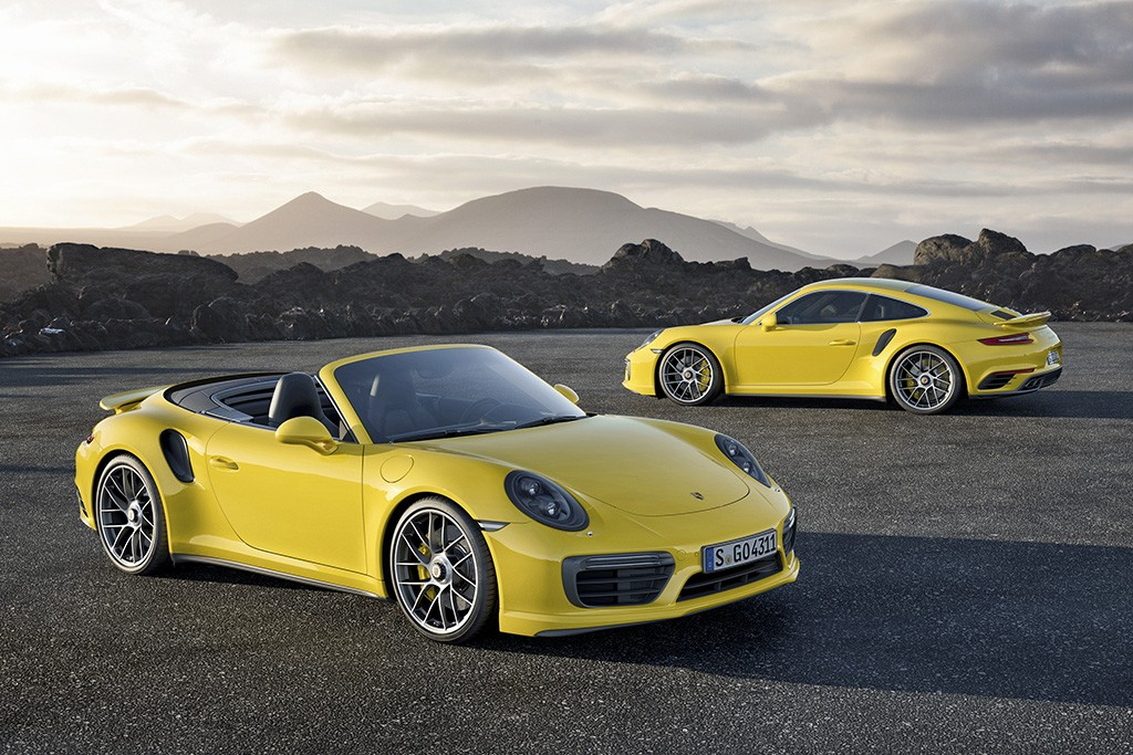 Porsche 911 Turbo S и 911 Turbo S Cabriolet