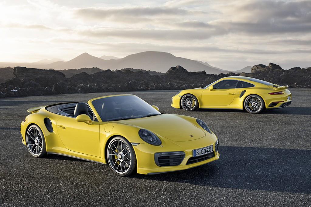 Porsche 911 Turbo S и 911 Turbo S Cabriolet