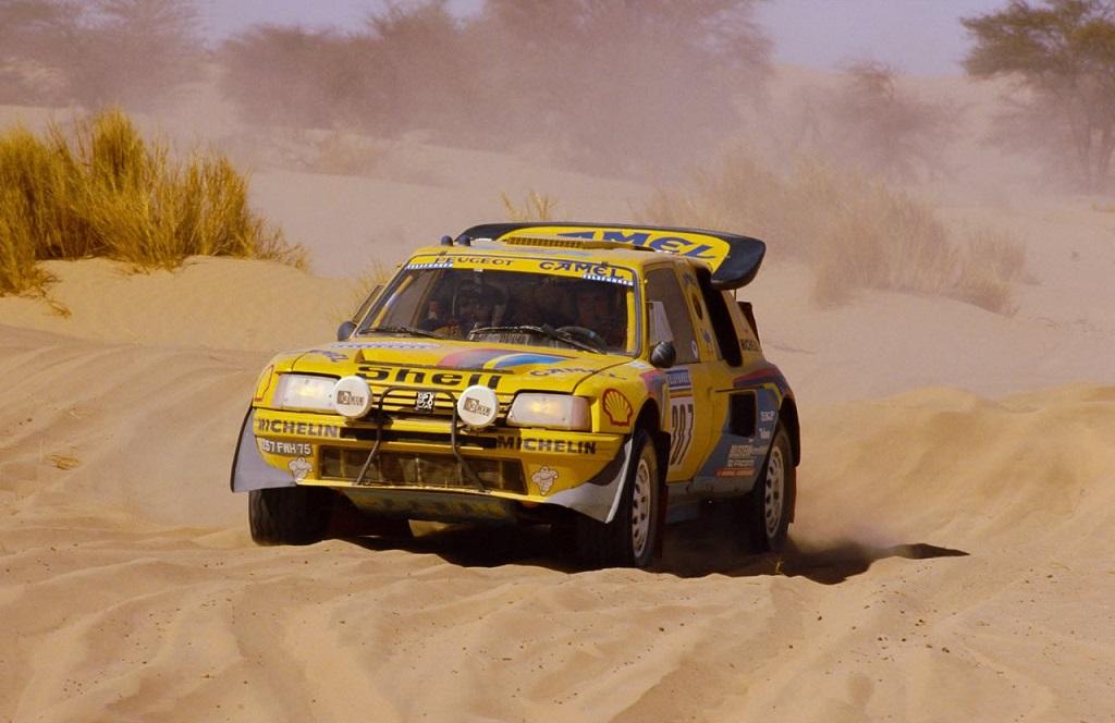 Ралли Дакар. Peugeot 205 T16