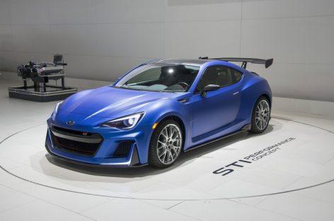 3 новых концепта Subaru