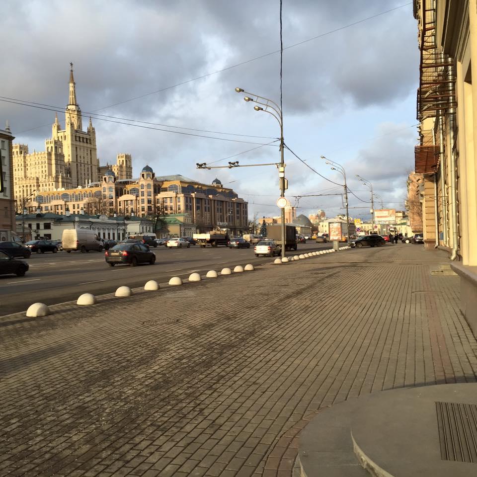 Центр Москвы без парковок
