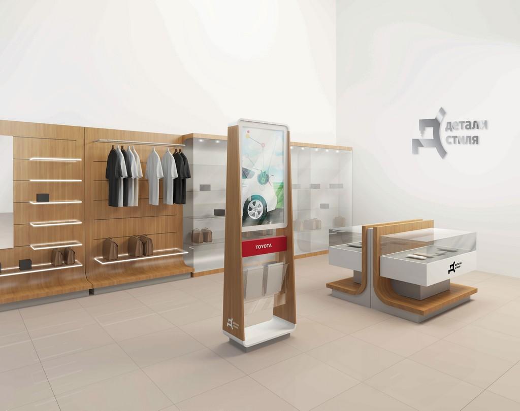 Toyota открыла бутики с одеждой и аксессуарами
