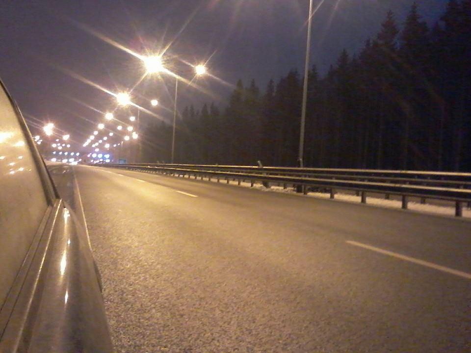 Трасса через Химкинский лес