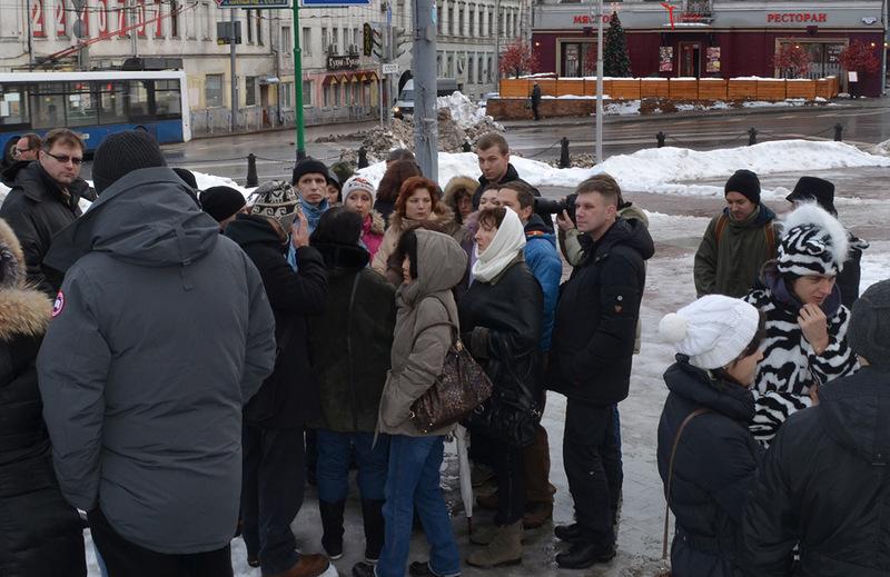 Жители против платных парковок 2012 год
