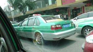 Типичное китайское такси. VW Jetta