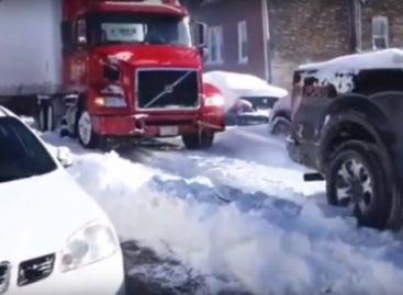 Коварные зимние дороги