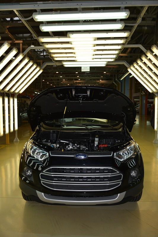 Ford EcoSport с двигателем российского производства