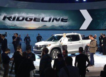 Просторный и функциональный Honda Ridgeline