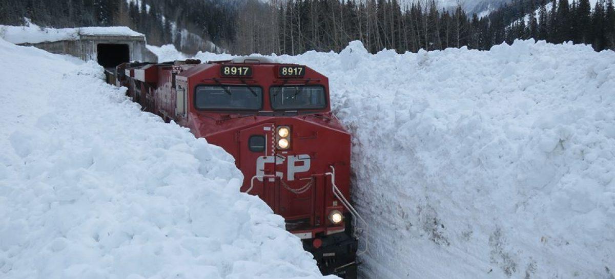 Сквозь снег на полном пару