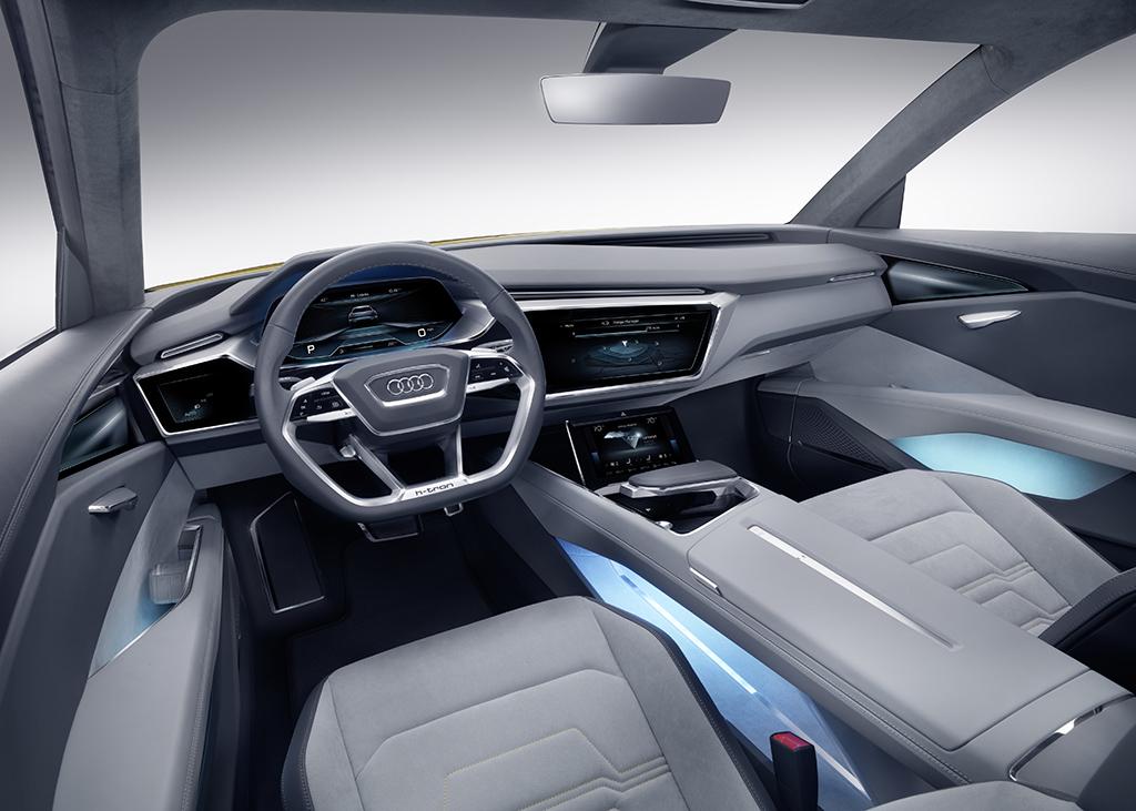 Концепт Audi h-tron quattro