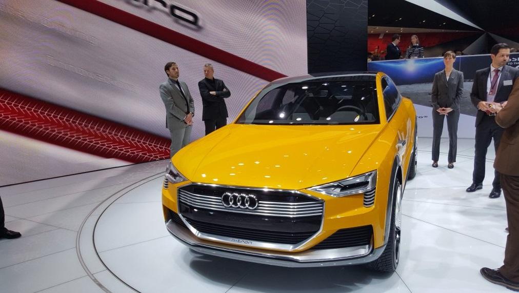 Концепт Audi h-tron quattro 9