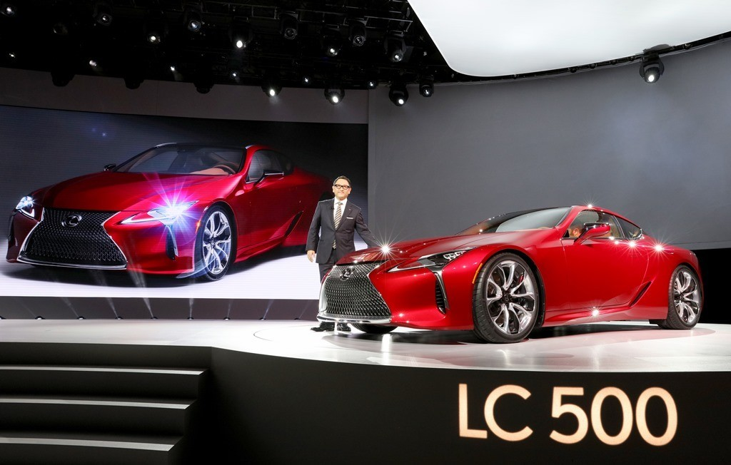 Lexus LC 500 2017