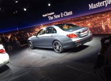 Новый E-Class дебютировал в Детройте