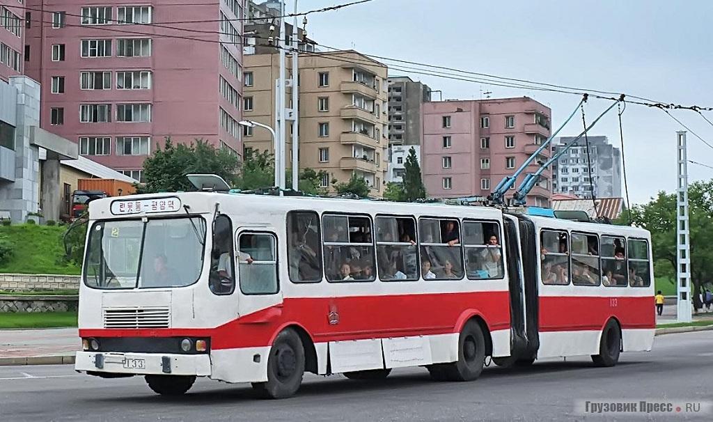 Неизвестный троллейбус