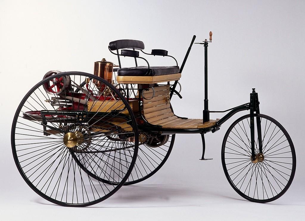 Патент на первый автомобиль Mercedes