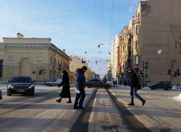 Новый способ уборки улиц в Санкт-Петербурге заинтересовал власти Риги