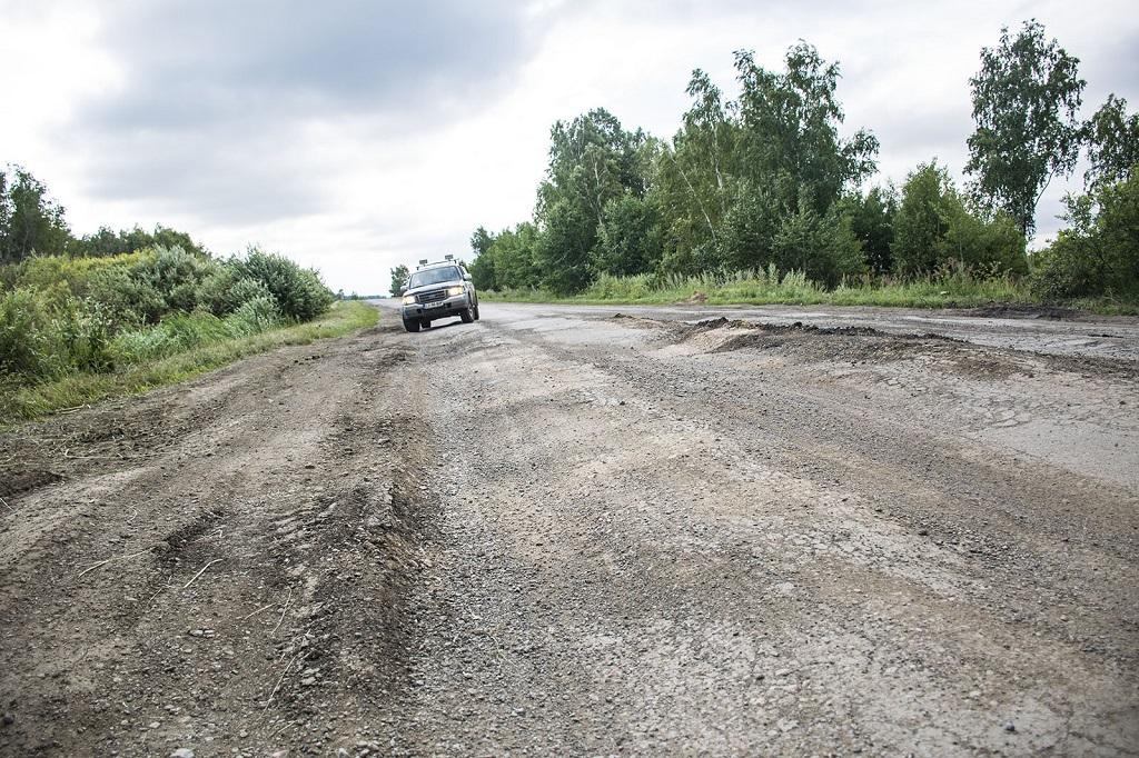 Плохая автомобильная дорога