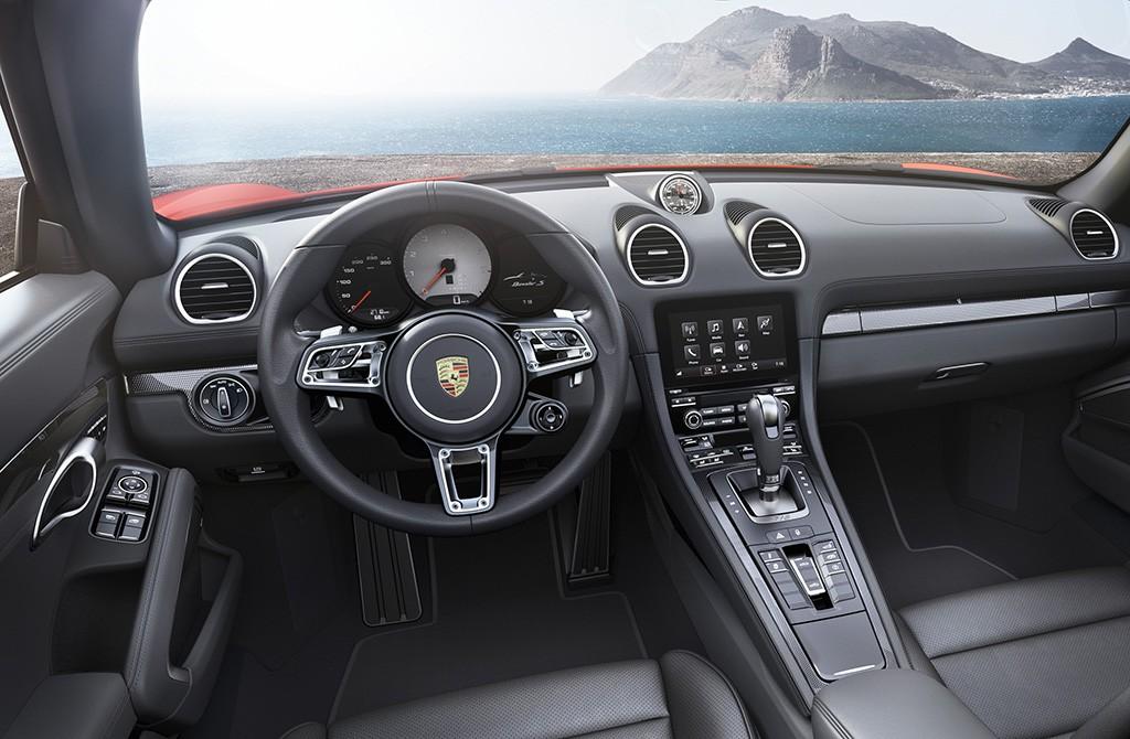 Porsche 718 Boxster S 2016
