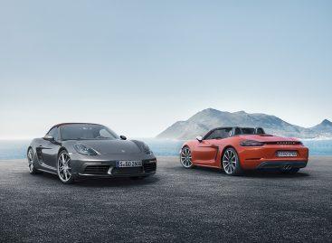 Porsche представляет новые среднемоторные родстеры