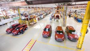 Производство автомобилей Ford EcoSport