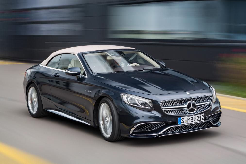 Mercedes S 65 AMG Cabriolet 2016