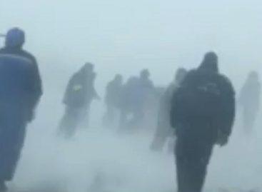 Ужас снежного плена на трассе Оренбург – Орск