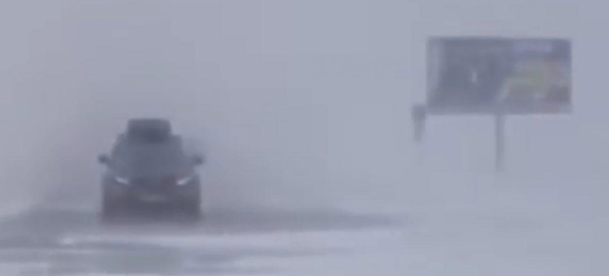 Снежный затор на трассе Оренбург-Орск заинтересовал прокуратуру