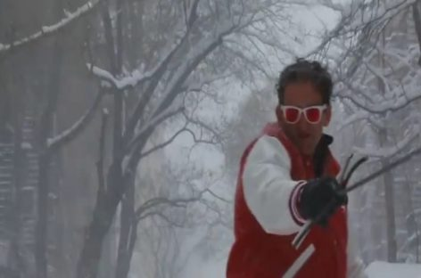 Сноуборд в городе