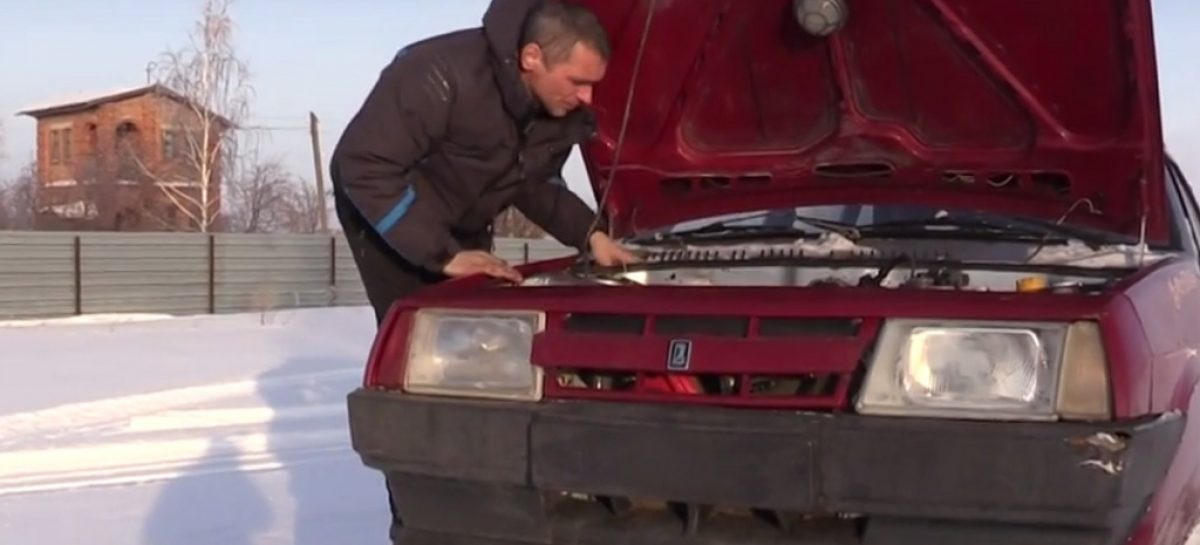 Танк из Lada Samara