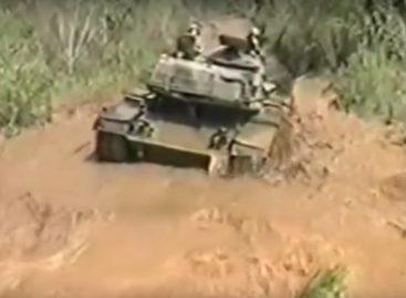 Сесть в лужу можно, даже если ты в танке