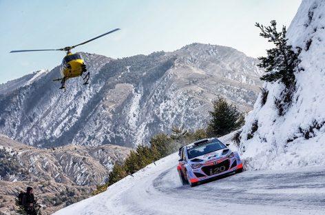 Новый i20 WRC выходит на трассу